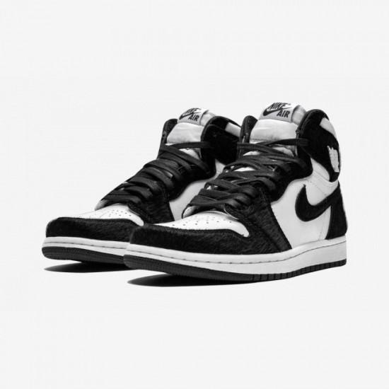 Air Jordan 1 High OG Twist Black White CD0461-007 Shoes