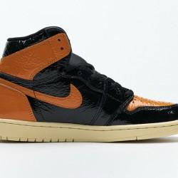 "Air Jordan 1 High OG ""Shattered Backboard 3.0"" Orange Black 555508-028 40-47"