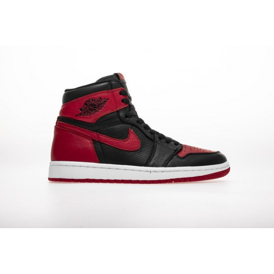 Air Jordan 1 Homage To Home Red Black White 861428-061 Shoes