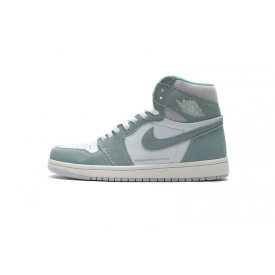 Air Jordan 1 OG Hi Retro Turbo Green Blue White 555088-311 Shoes