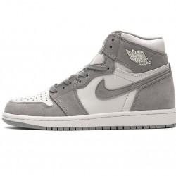 "Air Jordan 1 ""Pale Ivory"" Gray Pink AH7389-101"