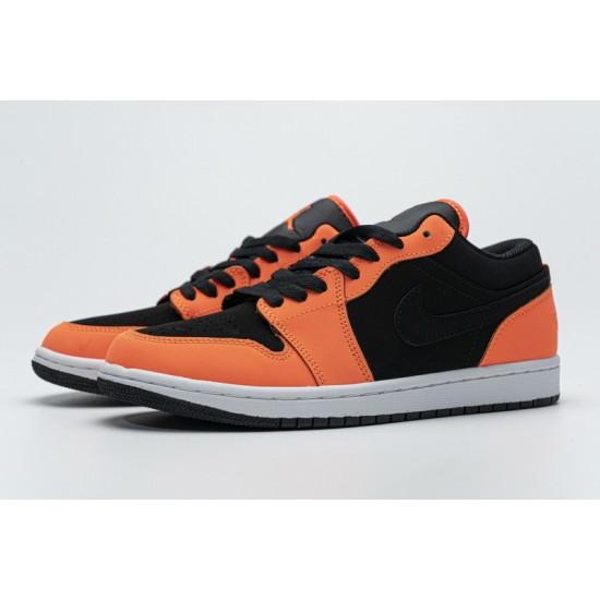 Air Jordan 1 Low Black Turf Orange Black Orange CK3022-008 36-45 Shoes