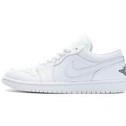 Air Jordan 1 Low White Black 553560-101 36-45