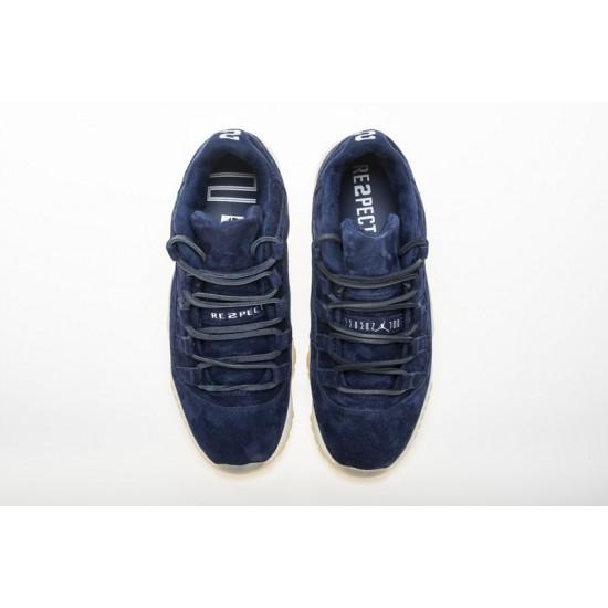 Air Jordan 11 Low RE2PECT Black White AV2187-441 Shoes