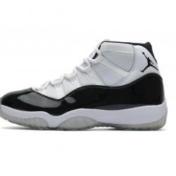 """Air Jordan 11 High """"Concord"""" White Black 378037-100"""