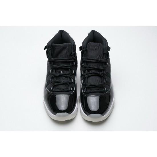 Air Jordan 11 25th Anniversary Black Silver Eyelets CT8012-011 40-47 Shoes