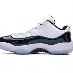 "Air Jordan 11 ""Emerald Easter"" White Black 528895-145"
