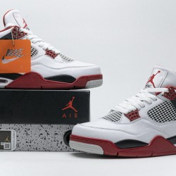 "Air Jordan 4 ""Fire Red"" White Red DC7770-160"