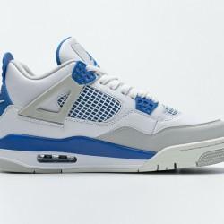 """Air Jordan 4 """"Military Blue"""" White Blue 308497-105 40-46"""