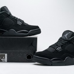 "Air Jordan 4 Retro ""Black Cat"" Black CU1110-010"