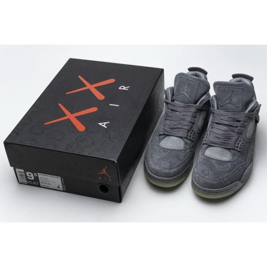 Air Jordan 4 Retro Cool Grey Blue Gray 930155-003 Shoes