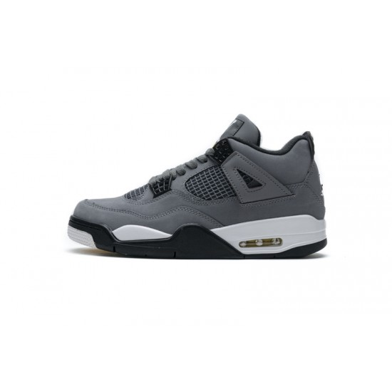 Air Jordan 4 Retro Cool Grey Grey Black 308497-007 Shoes