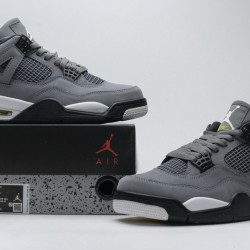 "Air Jordan 4 Retro ""Cool Grey"" Grey Black 308497-007"