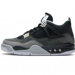 "Air Jordan 4 Retro ""Fear Pack"" Grey Black 626969-030"