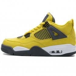 """Air Jordan 4 Retro LS """"Lightning"""" Yellow Grey 314254-702 40-46"""