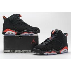 """Air Jordan 6 """"Black Infrared"""" Black Red 384664-060"""