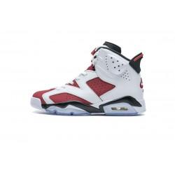 """Air Jordan 6 """"Carmine"""" White Red CT8529-106 40-47"""