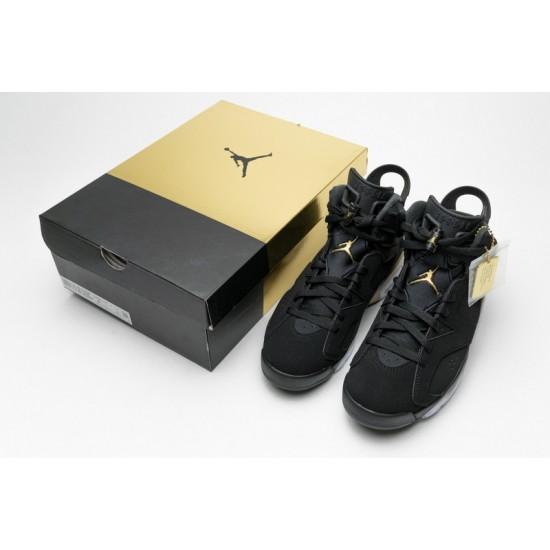 Air Jordan 6 DMP Black Gold CT4954-007 Shoes