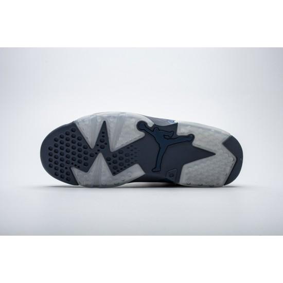 Air Jordan 6 Jimmy Butler Blue 384664-400 Shoes