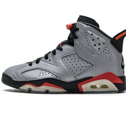 "Air Jordan 6 ""Reflections of a Champion"" Silver Black CI4072-001"
