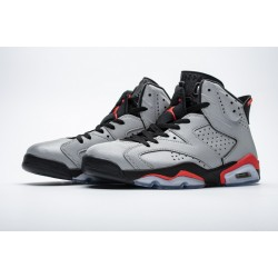 "Air Jordan 6 ""Reflections of a Champion"" Silver Black CI4072-001"