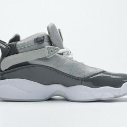 """Air Jordan 6 Rings BG """"Cool Grey"""" Grey White 322992-015 40-45"""