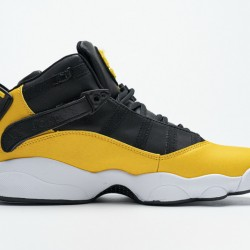 "Air Jordan 6 Rings BG ""Taxi"" Black Yellow 322992-700 40-45"