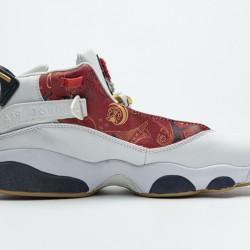 """Air Jordan 6 Rings BG """"Vasty Red"""" White Red 322992-163 36-45"""