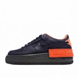 """Nike Air Force 1 Shadow """"Hyper Crimson"""" Black Orange CQ3317-001"""