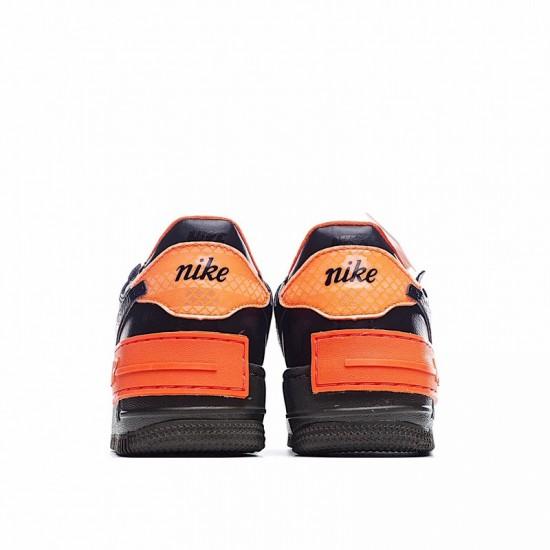 Nike Air Force 1 Shadow Hyper Crimson Black Orange CQ3317-001 Shoes