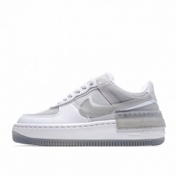 """Nike Air Force 1 Shadow """"Particle Grey"""" White Grey CK6561-100"""
