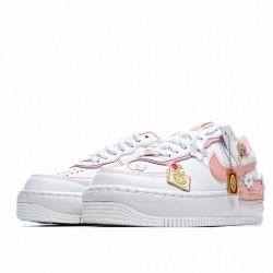 "Nike Air Force 1 Shadow ""Tropical Twist"" Pink Wihte CJ1641-101"
