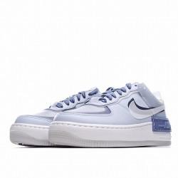 """Nike Air Force 1 Shadow """"World Indigo"""" Blue White CK6561-001"""