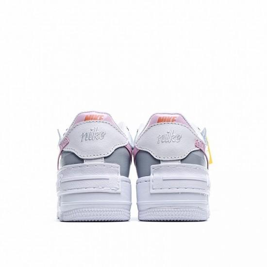 Nike Air Force 1 Shadow Pink Foam Grey Pink CZ0370-100 Shoes