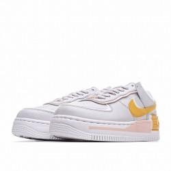 "Nike Air Force 1 Shadow ""Washed Coral"" Grey Pink Orange CQ9503-001"