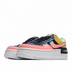 """Nike Air Force 1 Shadow """"Solar Flare Atomic Pink"""" Pink Orange CT1985-700"""