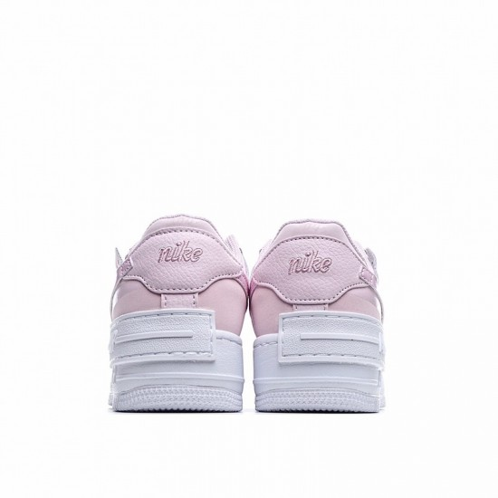 Nike Air Force 1 Shadow Pink Foam Pink White CV3020-600 Shoes