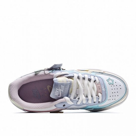 Nike Air Force 1 Shadow Pastel White Blue Pink CI0919-106 Shoes