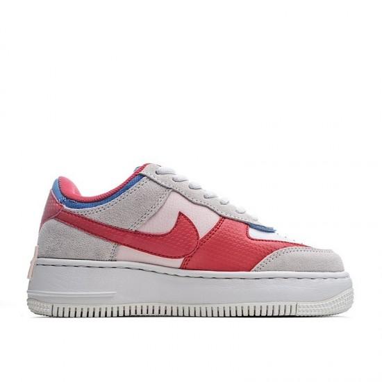 Nike Air Force 1 Shadow Sail White Blue Red CU8591-100 Shoes