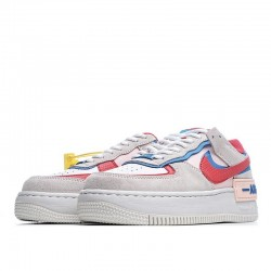 """Nike Air Force 1 Shadow """"Sail"""" White Blue Red CU8591-100"""