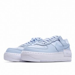"Nike Air Force 1 Shadow ""White Hydrogen Blue"" White Blue CV3020-400"