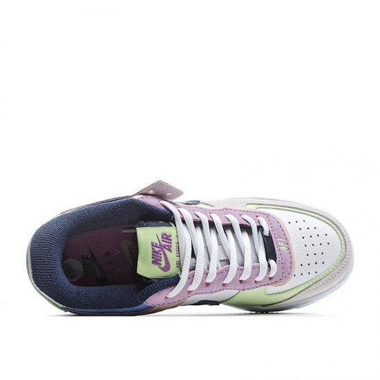 Nike Air Force 1 Shadow Crimson Tint Volt White Pink Green CU8591-001 Shoes