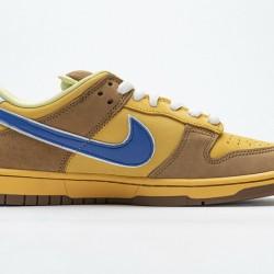 "Nike SB Dunk Low ""Newcastle Brown Ale"" Brown Yellow Blue 313170-741 40-47"