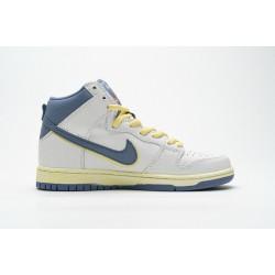 "Atlas x Nike SB Dunk High ""Lost At Sea"" White Blue Yellow CZ3334-100 36-47"