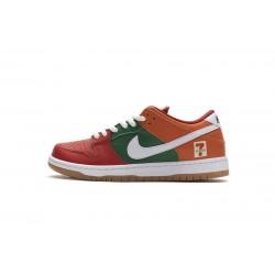 Eleven x Nike SB Dunk Low Red Green Orange CZ5130-600