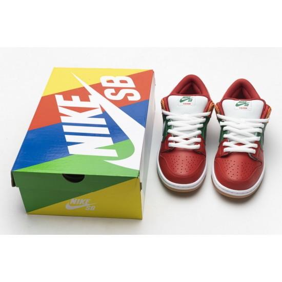 Eleven x Nike SB Dunk Low Red Green Orange CZ5130-600 Shoes