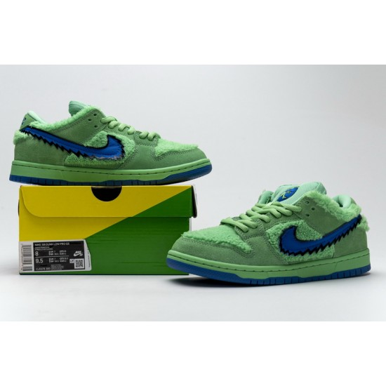 Grateful Dead x Nike SB Dunk Low Pro QS Green Bear Green Blue CJ5378-300 Shoes