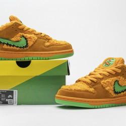"Grateful Dead x Nike SB Dunk Low Pro QS ""Orange Bear"" Orange Green CJ5378-800"