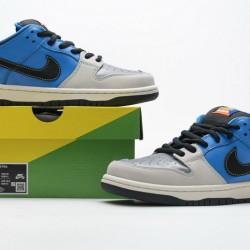 Instant Skateboards x Nike SB Dunk Low Blue Grey CZ5128-400