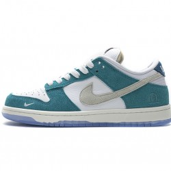 "Kasina x Nike Dunk Low ""Neptune Green"" Blue White CZ6501-101"